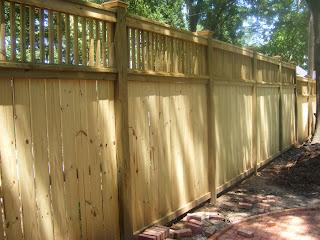 Деревянный забор. Фото 101