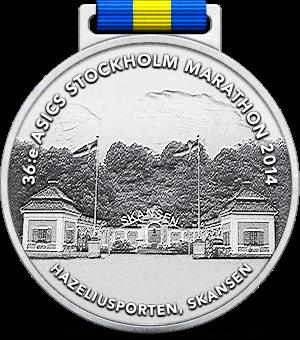 Stockholm Marathon 2014 - 2:50:43. Mitt bästa lopp hittills. Klicka för Race Rapport!