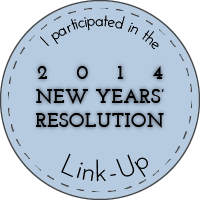 Living the Creative Life 2014 New Years Resolution Link Up
