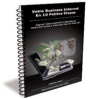 Guide pratique Qui Vous Explique Etape Par Etape Comment Gagner De L'Argent Sur Internet Rapidement
