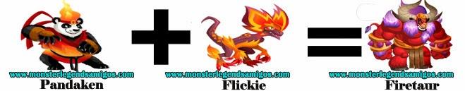 como obtener el monster firetaur en monster legends formula 2