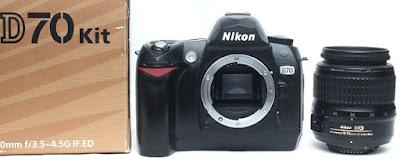 Jual Kamera DSLR 2nd - Nikon D70