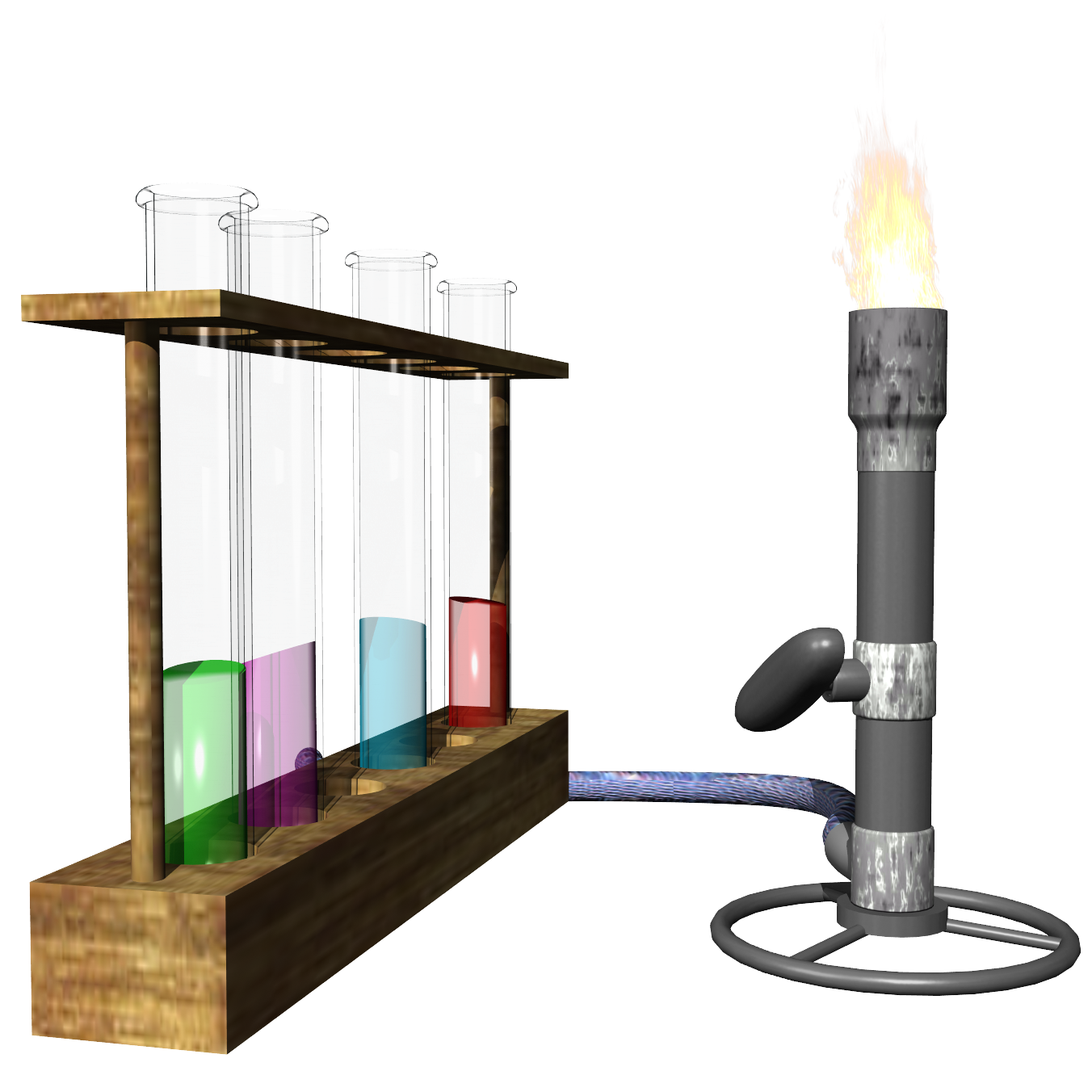 How do you find answers to the flame test Lab?