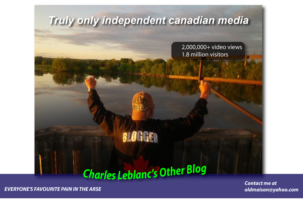 Charles Leblanc's Other Blog