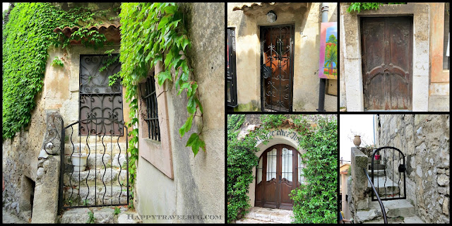 So many charming doorways in Eze, France