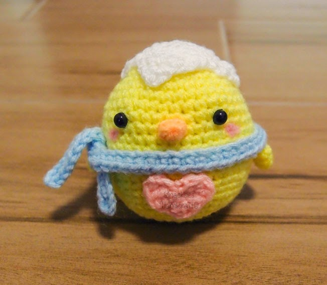 Amigurumi Hatching Easter Chicks : Easter Chick Amigurumi ~ Snacksies Handicraft Corner