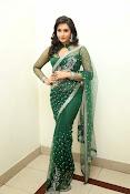 Ragini Dwivedi Glamorous photos in Green Saree-thumbnail-1
