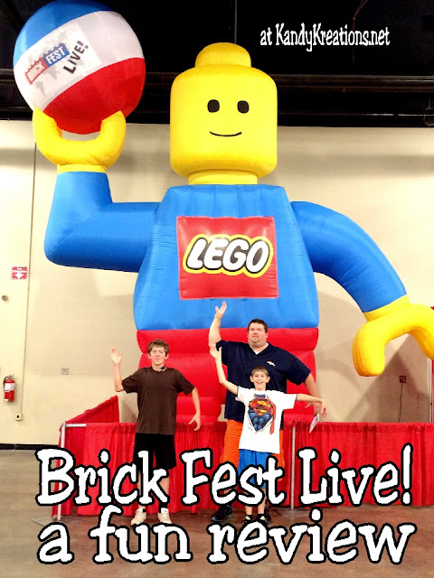 Visit Brick Fest Live! for a fun afternoon of building, playing, shopping, and family time.  Our experience was a win with time together and lots of creativity and Master building time.