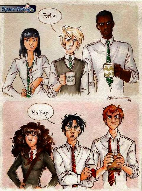 funny Potter Malfoy picture