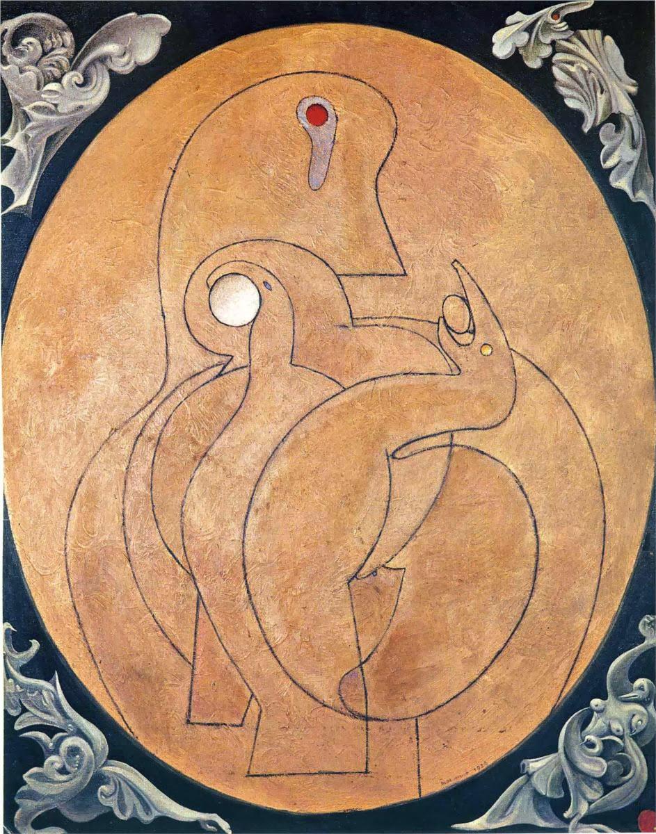 The inner vision: the egg (Max Ernst, 1929)