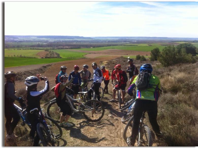 Marcha al Monte El Viejo de Palencia. 02.04.2015