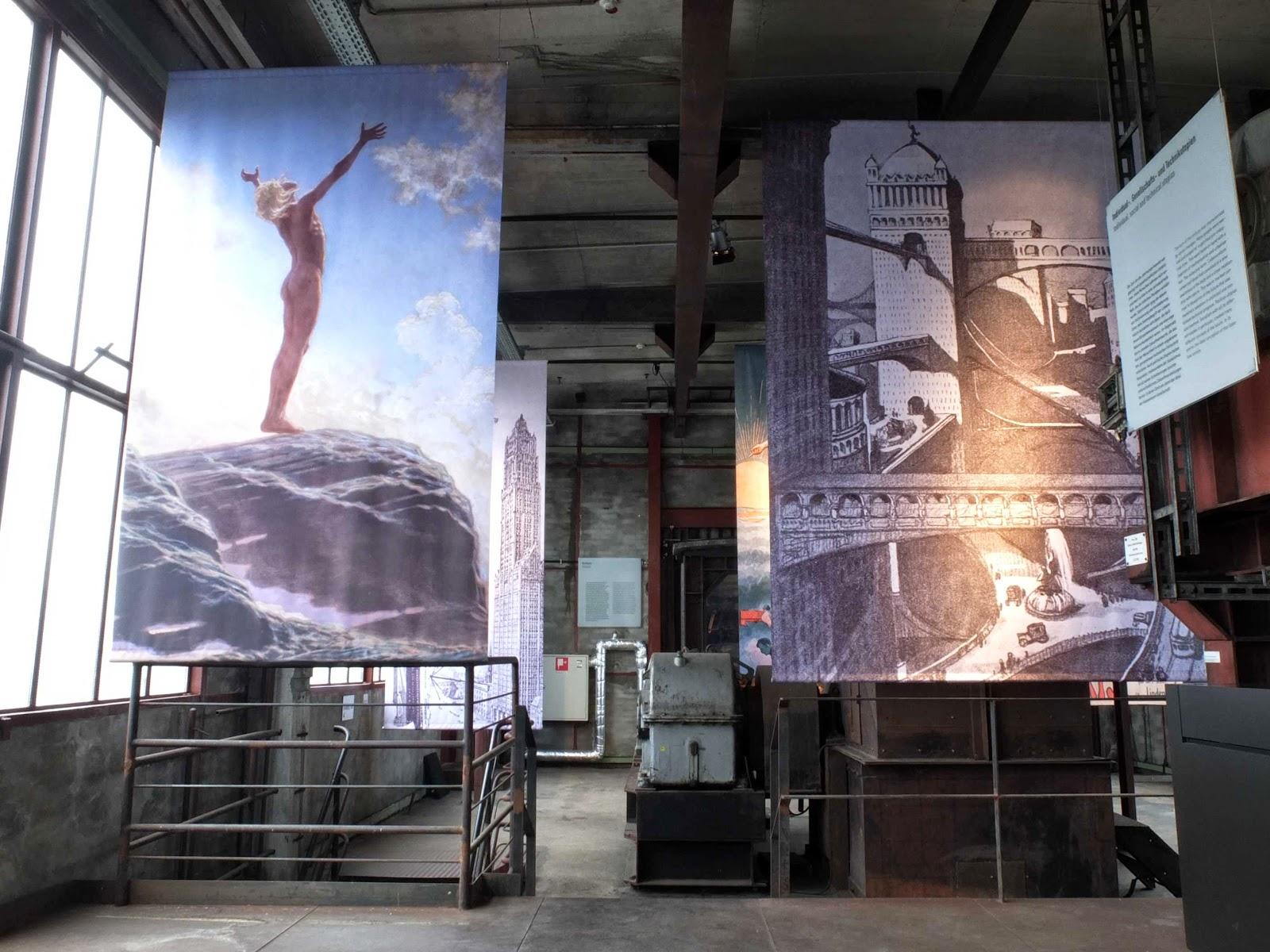 Reformbewegung, oberste Ebene, Standseilbahn, Prolog der Ausstellung