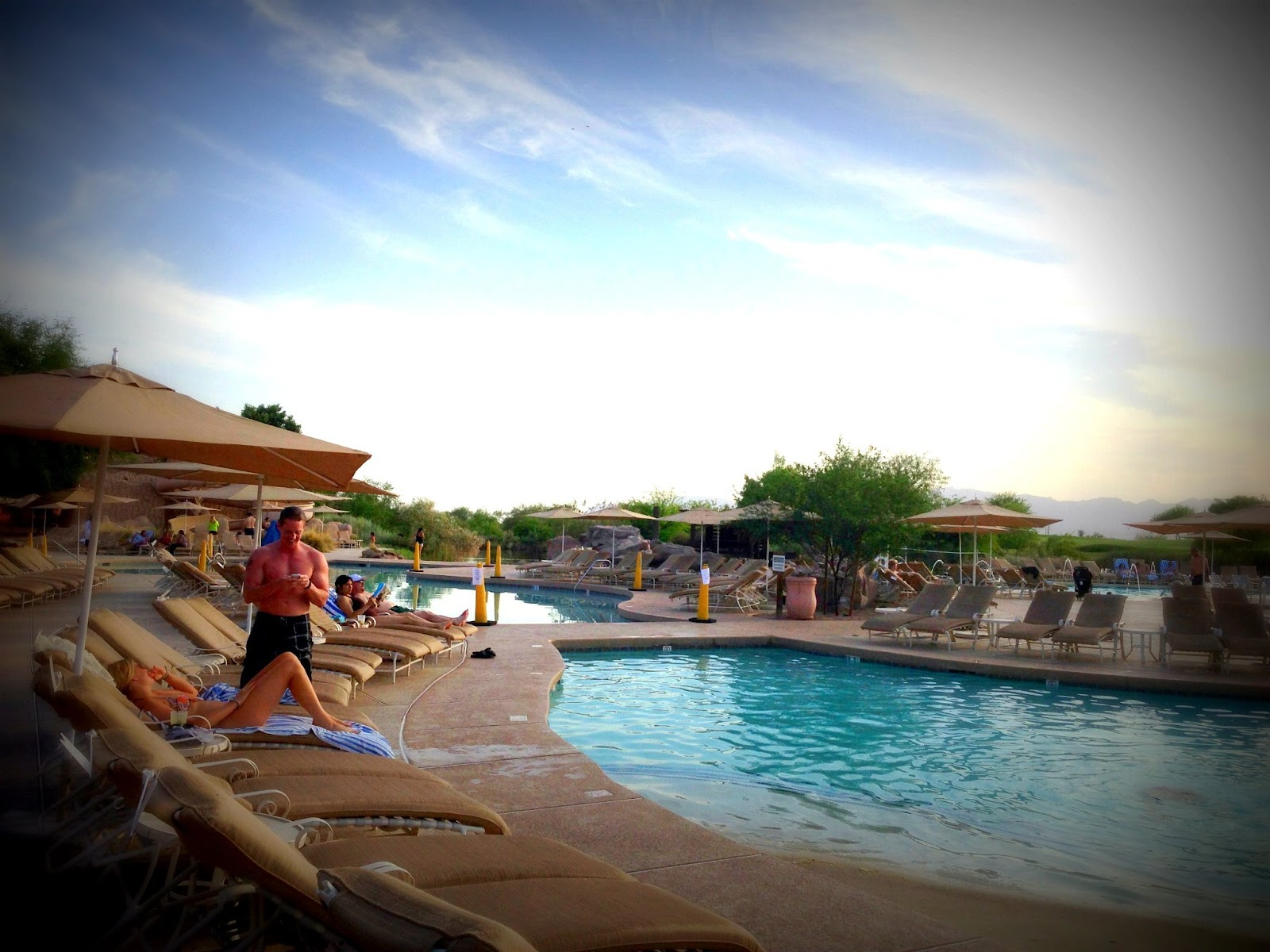 Pool at the Sheraton Wild Horse Pass Resort & Spa