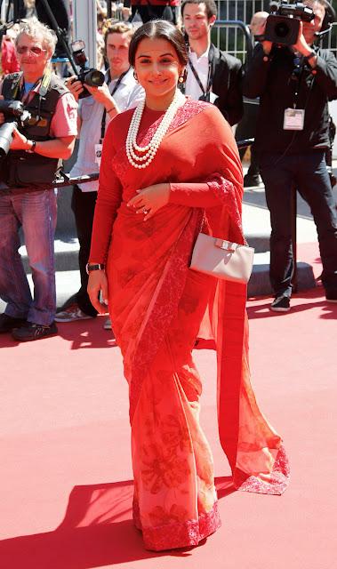 Vidya Balan sabyasachi Cannes 2013