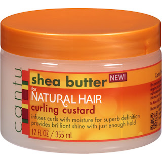 Cantu Shea Butter For Natural Hair Curling Custard Review