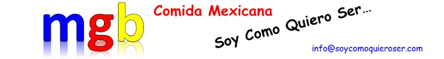 Recetas de Cocina a la Medida. Comida Mexicana