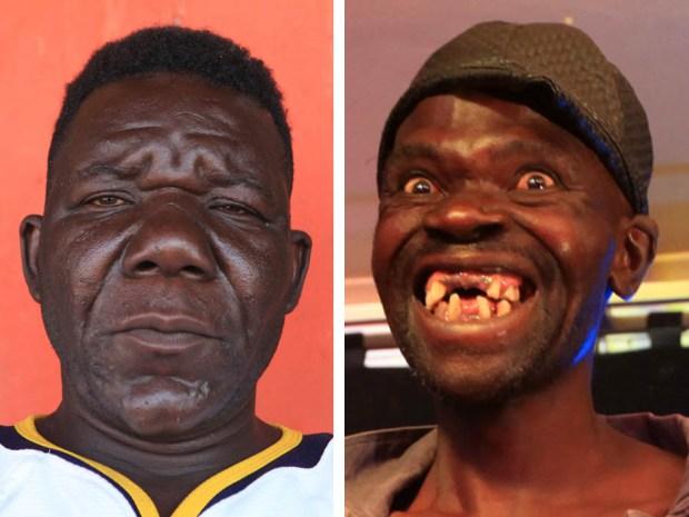 Os homens mais feios do Zimbábue