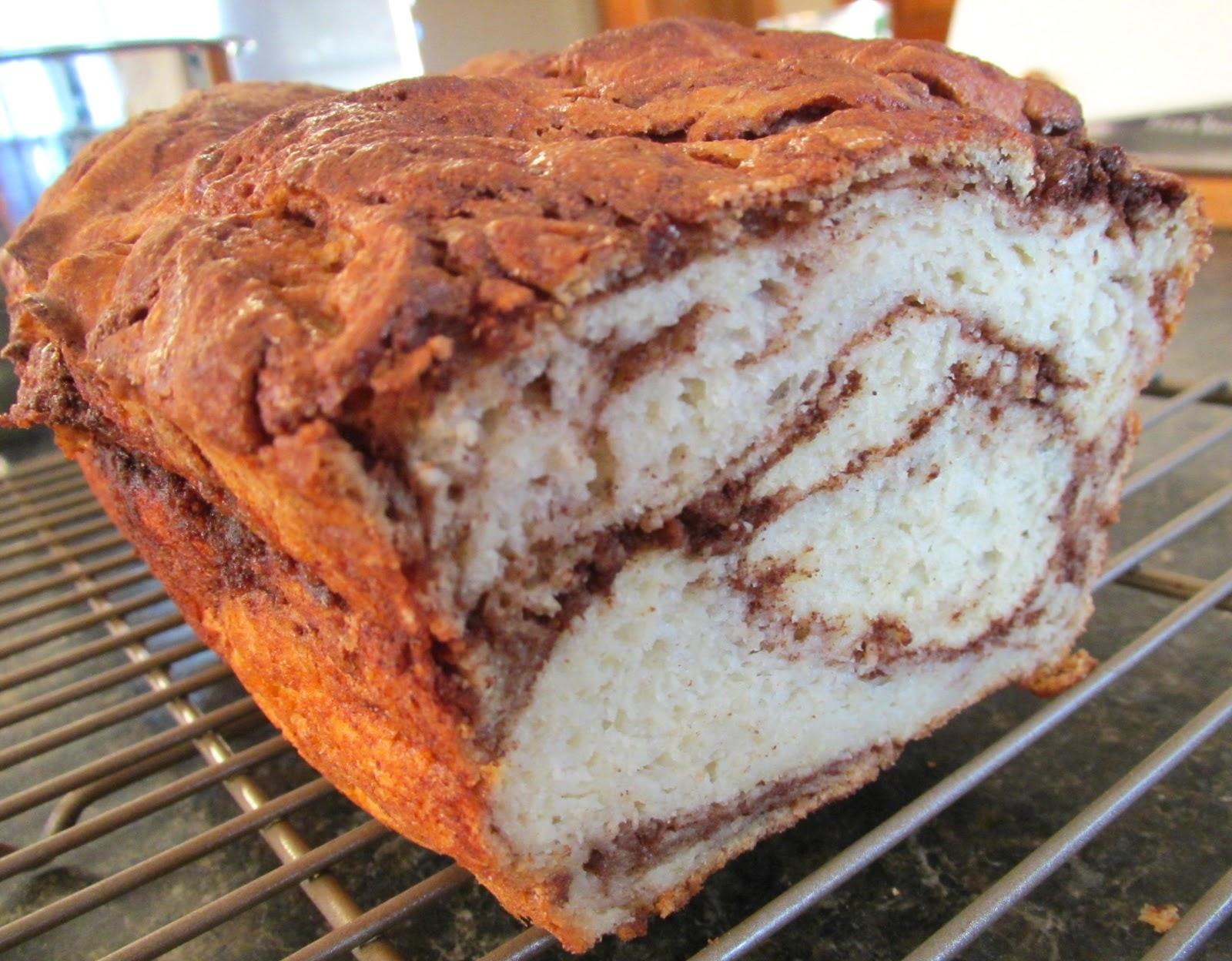 Successfully Gluten Free! : Gluten-Free Cinnamon Swirl Bread