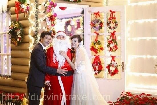 Rực rỡ với Abum cưới trong mùa Giáng Sinh 3