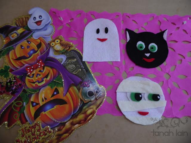 portavasos de halloween