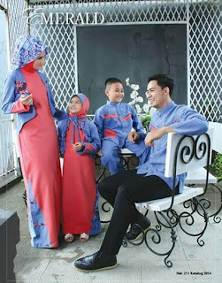 Trend Baju Muslim Keluarga untuk Lebaran