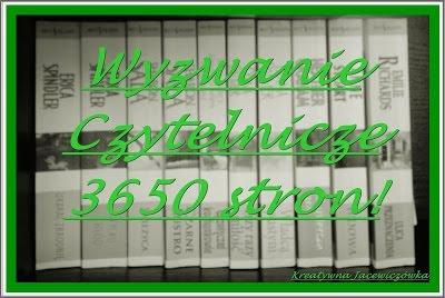 Wyzwanie czytelnicze 3650 stron