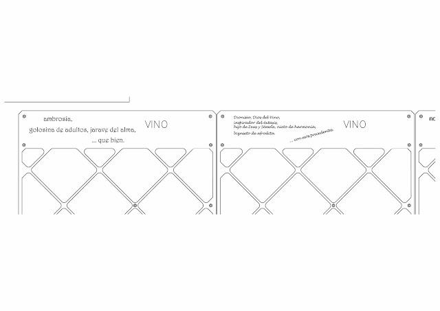 Trabajo en Forja - Botellero en Forja en Madrid - Distintos diseños