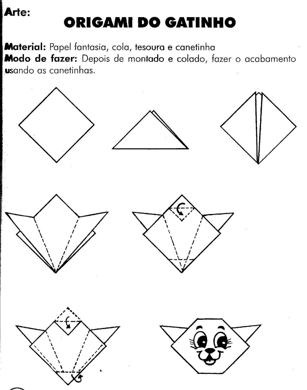 Populares DOBRADURAS E ATIVIDADES RECORTADAS | Cantinho do Educador Infantil FU66
