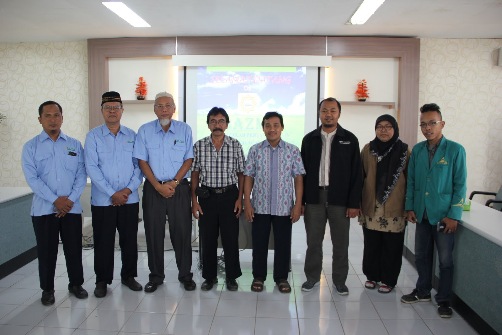 KUNJUNGAN ILMIAH MAHASISWA MD Angkatan 2015 ke BAZMA Cilacap