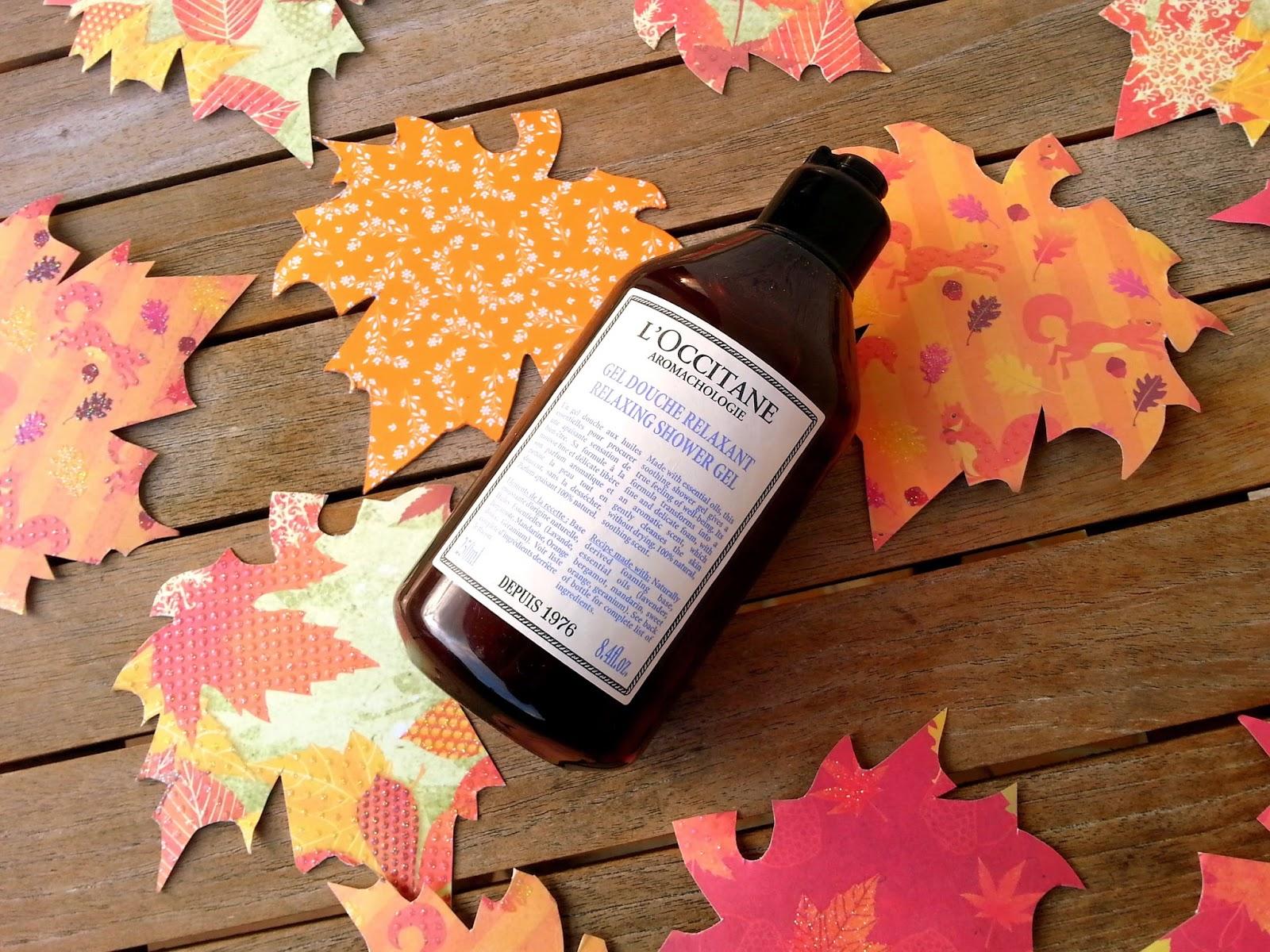 �ล�าร���หารู��า�สำหรั� l'occitane aromachologie relaxing shower gel