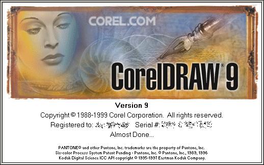 CorelDraw 9.0