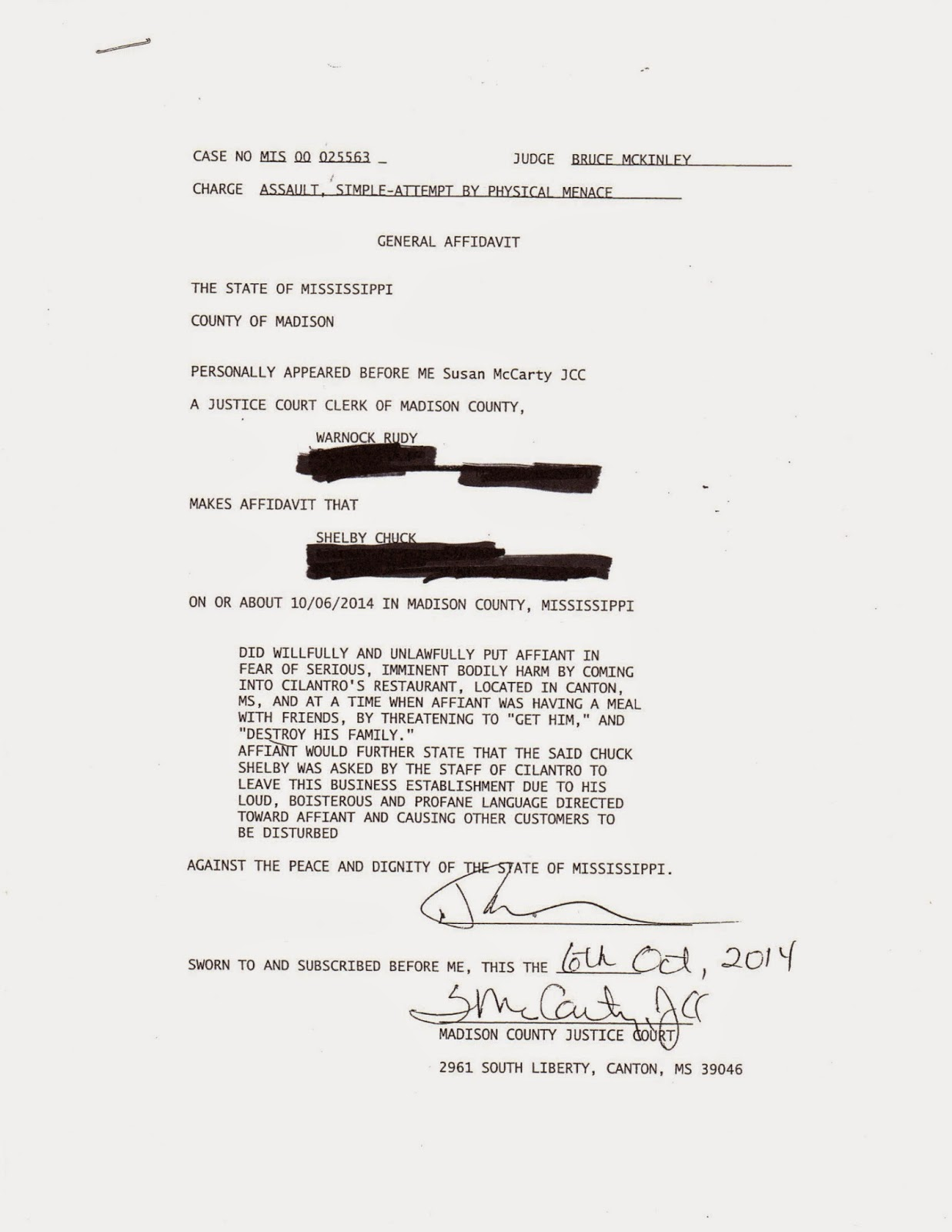 Mississippi madison county canton - Mr Warnock Filed Charges The Next Day Mr Shelby Was Arrested The Next Day And Posted Bond He Is 72 Years Old The Affidavit Is Posted Below