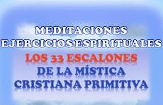 EJERCICIOS ESPIRITUALES - 33 ESCALONES