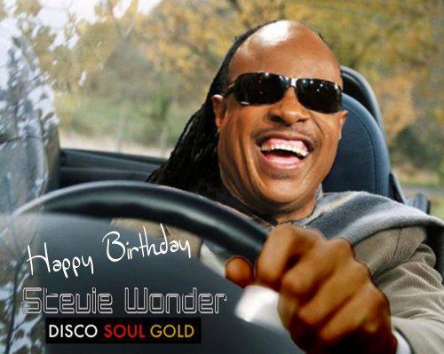 disco soul gold happy birthday stevie wonder. Black Bedroom Furniture Sets. Home Design Ideas