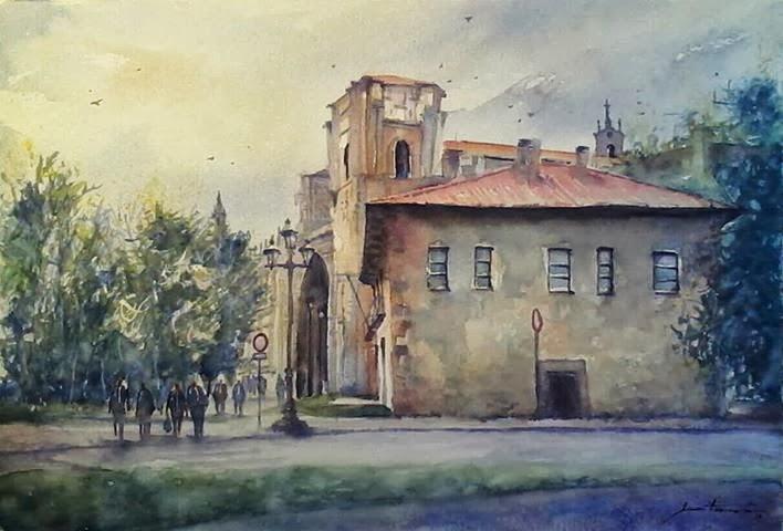 Vista de S. Marcos. León.