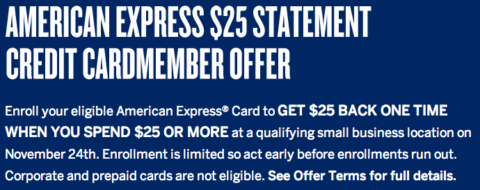 Relentless Financial Improvement American Express Small