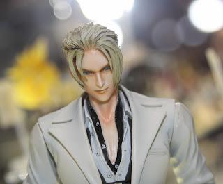 Square Enix Play Arts 2013 Toy Fair Display - Final Fantasy figure