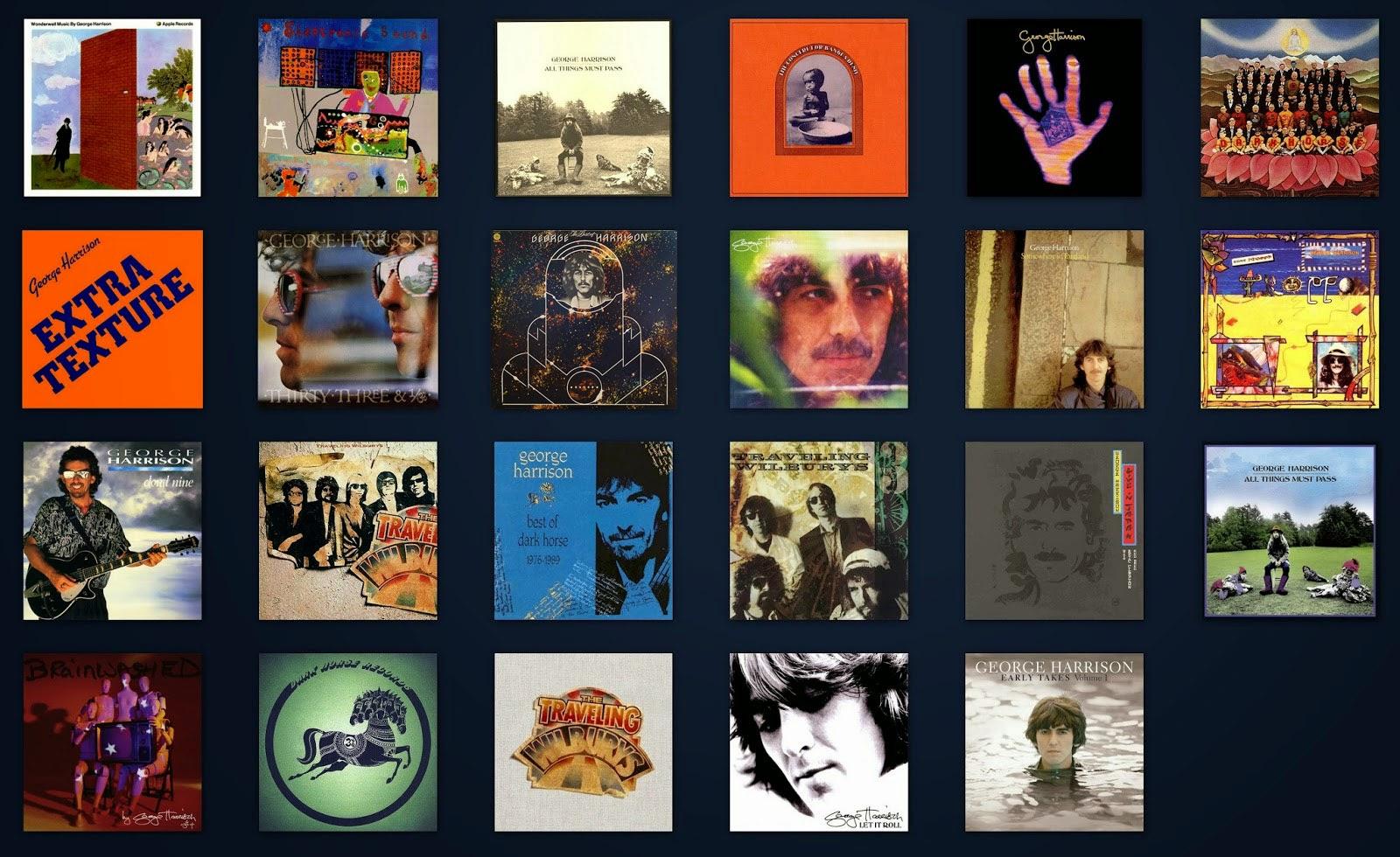 George Harrison US Albums