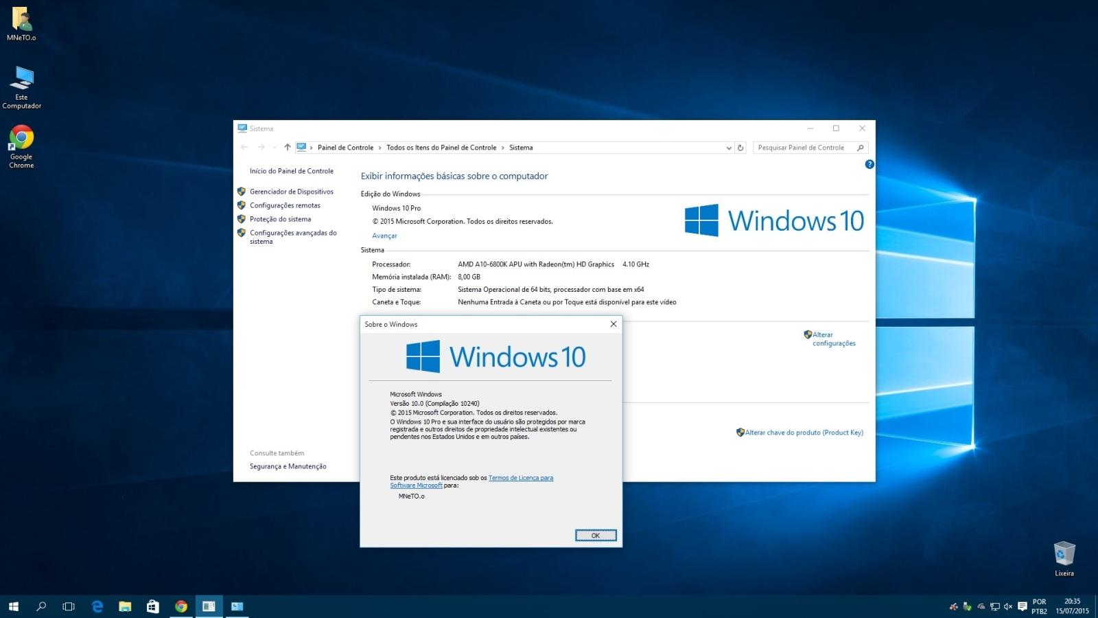 Windows 10 Pro 32/64 Bits PT-BR Torrent - ISO OFICIAL - Só ...