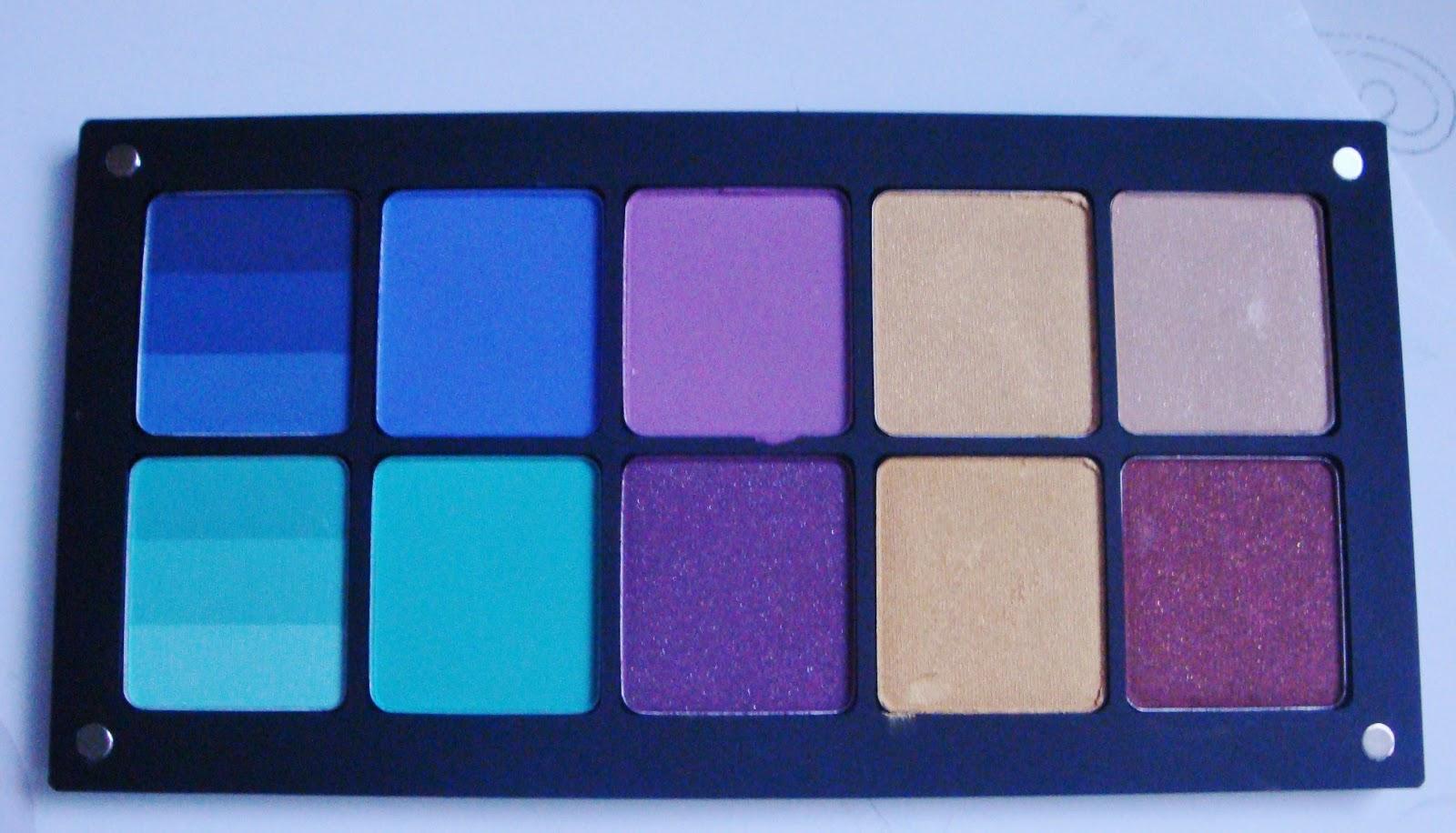 Inglot palette full of matte shadows. - http://bit