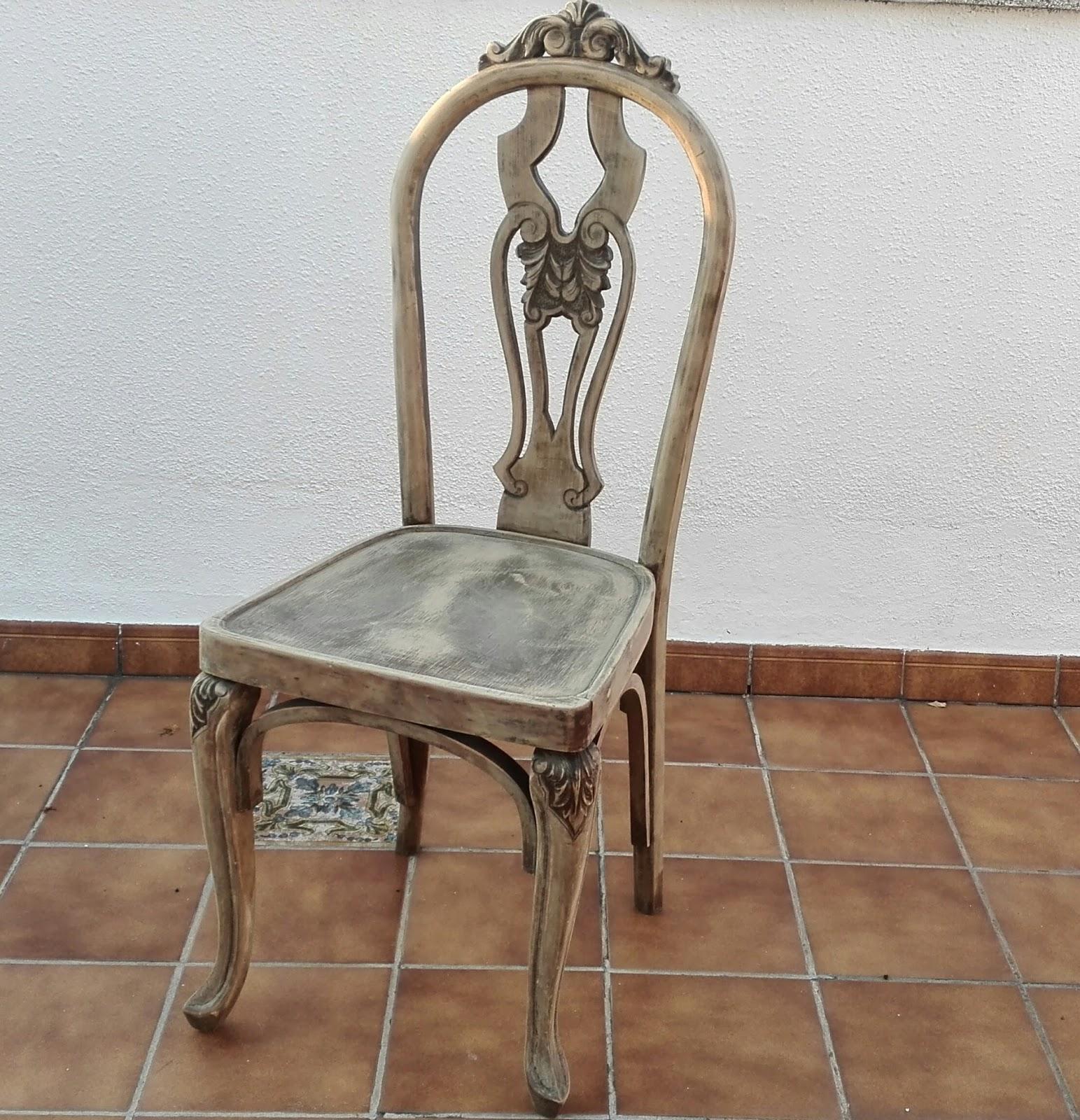 Buhardilla de ideas restauraci n de sillas estilo art dec - Restauracion de sillas ...