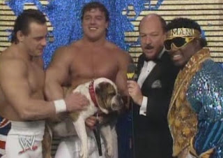 WWF / WWE WRESTLEMANIA 4: The British Bulldogs, Matilda and Koko B. Ware