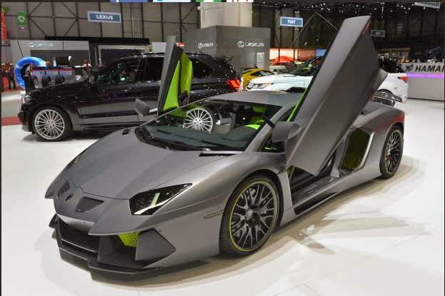 Gambar Modifikasi Mobil Lamborghini Aventador Limited