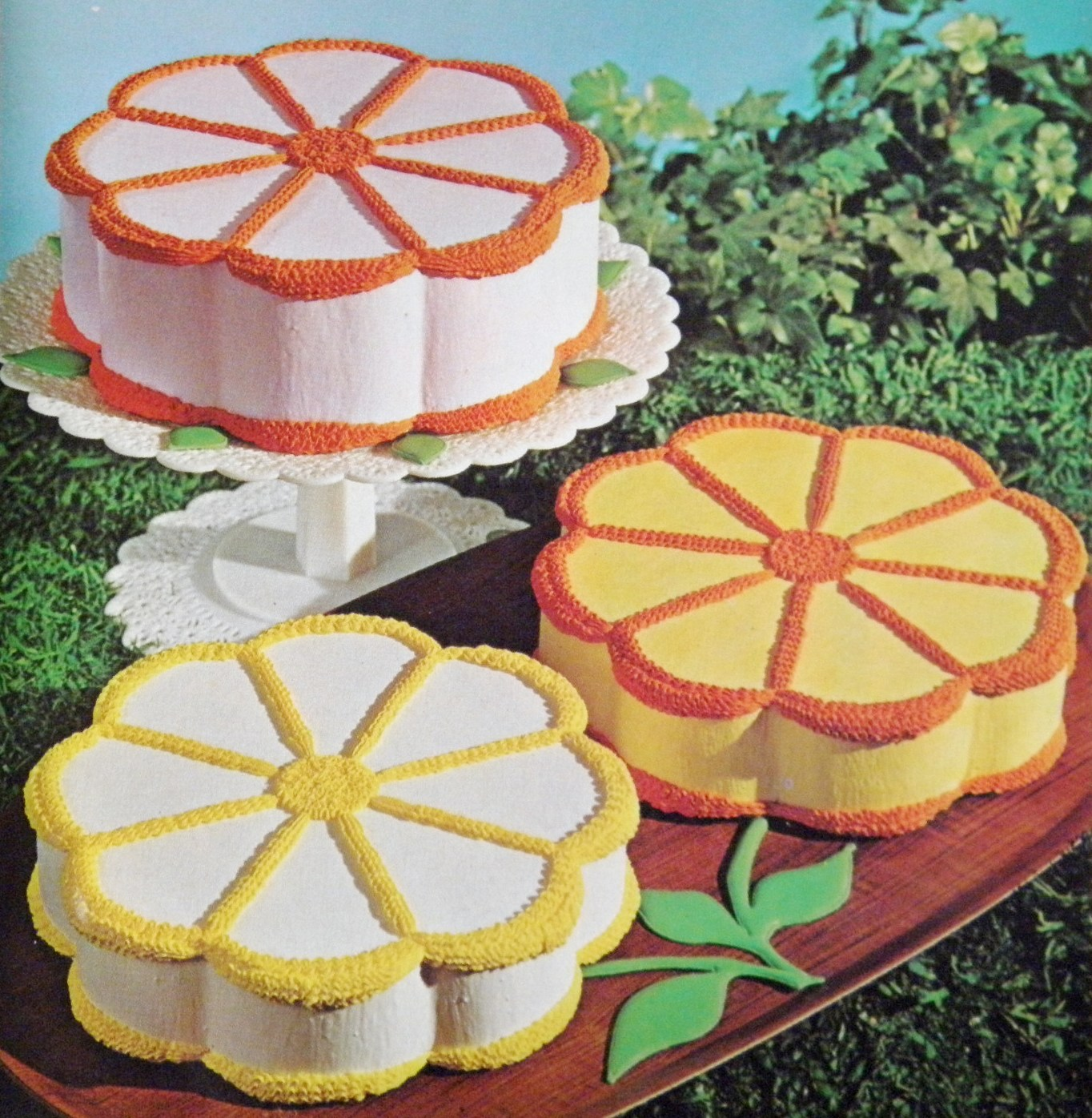 How To Make A Daisy Shaped Cake