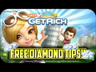 Cara mendapatkan Diamond Lets Get Rich gratis Terbaru Desember 2015