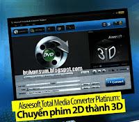 Phần mềm chuyển phim 3D
