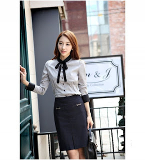 baju atasan wanita lengan panjang