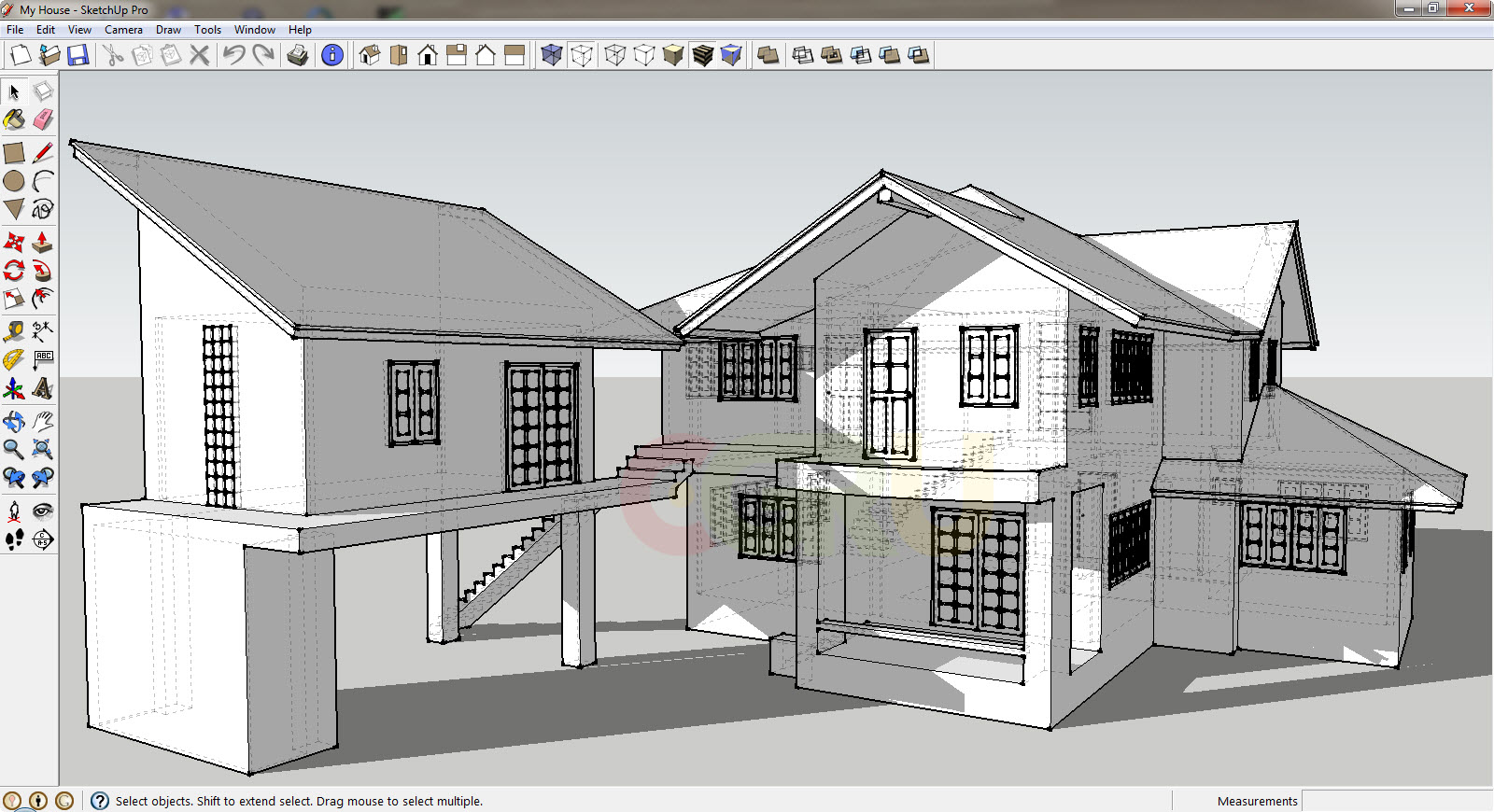 Google sketchup pro 2014 14 software499full for Sketchup import