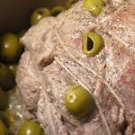 Rôti de porc aux olives
