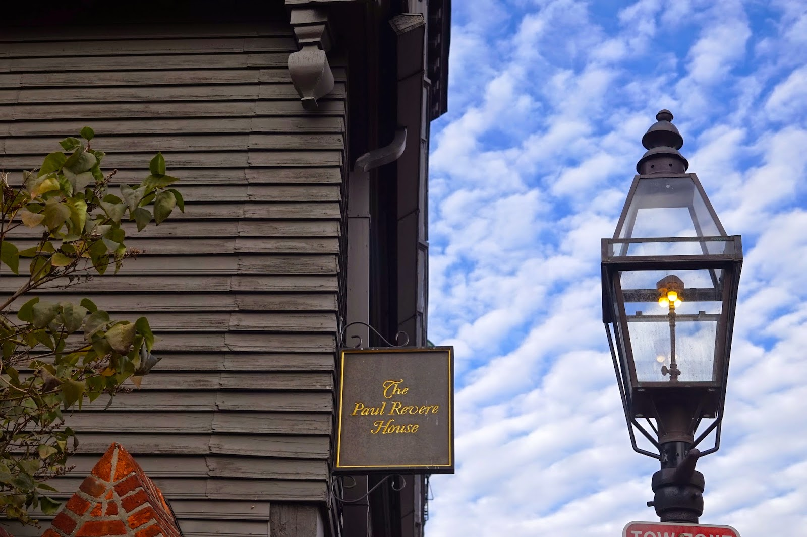 the paul revere house boston